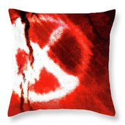 Abstraction #1 Throw Pillow