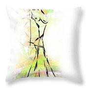 Abstraction 1222 - Marucii Throw Pillow