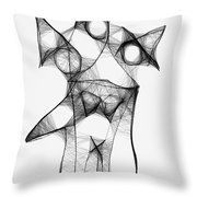 Abstraction 1223 - Marucii Throw Pillow