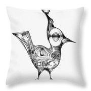 Abstraction 1224 - Marucii Throw Pillow