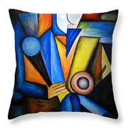 Abstraction 1720 Throw Pillow