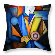 Abstraction 1721 Throw Pillow