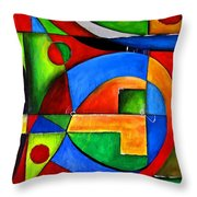 Abstraction 1723 Throw Pillow