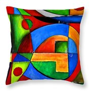 Abstraction 1724 Throw Pillow