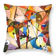Abstraction 1768 Throw Pillow