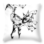 Abstraction 1808 Throw Pillow