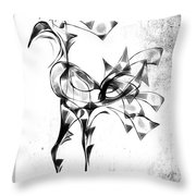 Abstraction 1809 Throw Pillow