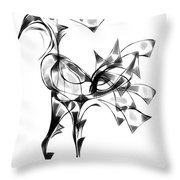 Abstraction 1810 Throw Pillow