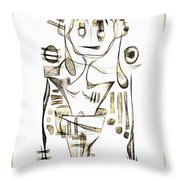 Abstraction 2044 Throw Pillow