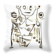 Abstraction 2045 Throw Pillow