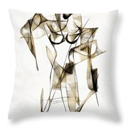 Abstraction 2176 Throw Pillow
