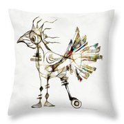 Abstraction 2185 Throw Pillow