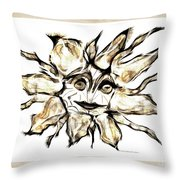 Abstraction 2253 Throw Pillow