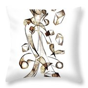 Abstraction 2256 Throw Pillow