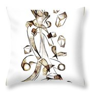 Abstraction 2257 Throw Pillow