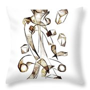 Abstraction 2258 Throw Pillow