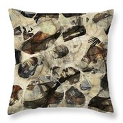 Abstraction 2322 Throw Pillow