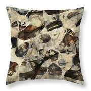 Abstraction 2323 Throw Pillow