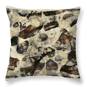 Abstraction 2324 Throw Pillow
