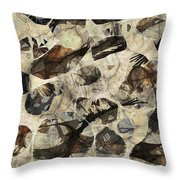 Abstraction 2325 Throw Pillow