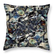 Abstraction 2326 Throw Pillow