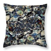 Abstraction 2327 Throw Pillow
