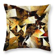 Abstraction 2399 Throw Pillow
