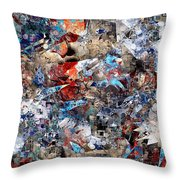 Abstraction 2400 Throw Pillow
