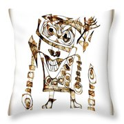 Abstraction 2422 Throw Pillow
