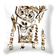 Abstraction 2423 Throw Pillow