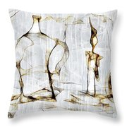 Abstraction 2426 Throw Pillow