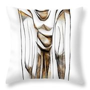 Abstraction 2427 Throw Pillow