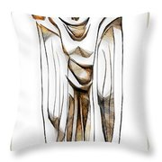 Abstraction 2428 Throw Pillow