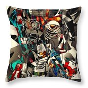 Abstraction 2503 Throw Pillow
