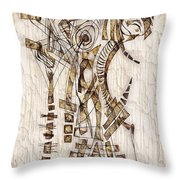 Abstraction 2566 Throw Pillow