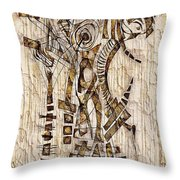 Abstraction 2568 Throw Pillow