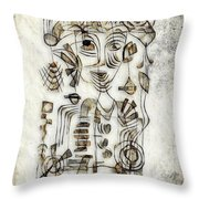 Abstraction 2569 Throw Pillow