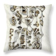 Abstraction 2570 Throw Pillow
