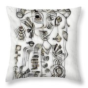 Abstraction 2573 Throw Pillow