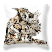 Abstraction 2737 Throw Pillow