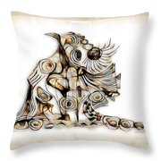 Abstraction 2740 Throw Pillow