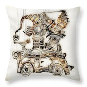 Abstraction 2810 Throw Pillow