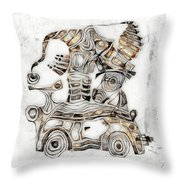 Abstraction 2812 Throw Pillow