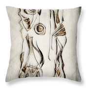 Abstraction 2819 Throw Pillow