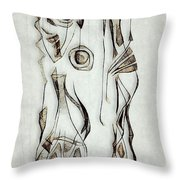 Abstraction 2822 Throw Pillow
