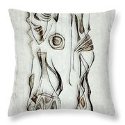 Abstraction 2823 Throw Pillow