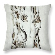 Abstraction 2824 Throw Pillow