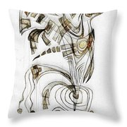 Abstraction 2829 Throw Pillow