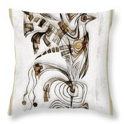 Abstraction 2833 Throw Pillow