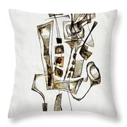 Abstraction 2842 Throw Pillow